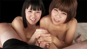 Akari Hayase, Mai Araki Handjob