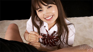 Ayaka Yamashita Handjob