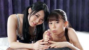 Mai Araki, Yui Kawagoe Handjob