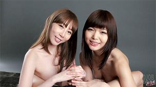 Aya Kisaki, Shino Aoi Handjob