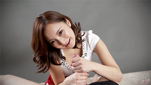 Uika Hoshikawa Handjob