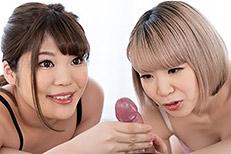 Natsumi Hayakawa, Miku Aida Handjob